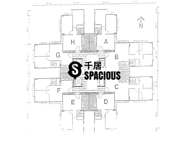 Tai Koo Shing - Taikoo Shing - Choi Tien Mansion Floor Plan 24