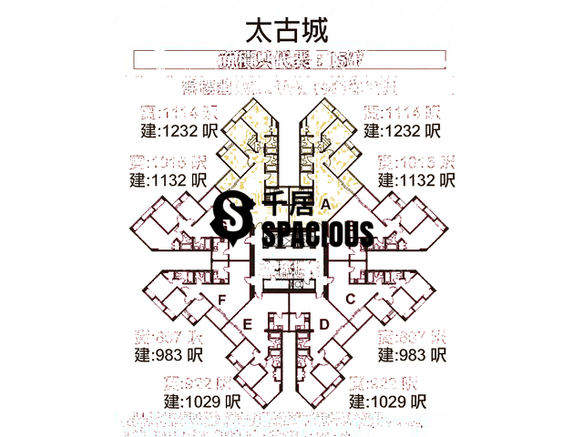 Tai Koo Shing - Taikoo Shing - Choi Tien Mansion Floor Plan 111