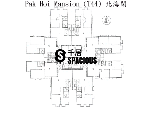 Tai Koo Shing - Taikoo Shing - Choi Tien Mansion Floor Plan 21
