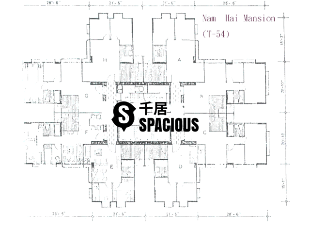 Tai Koo Shing - Taikoo Shing - Choi Tien Mansion Floor Plan 07