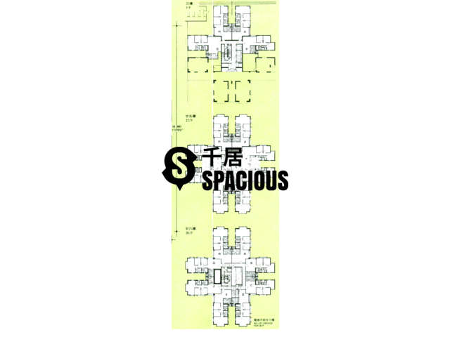 Tai Koo Shing - Taikoo Shing - Choi Tien Mansion Floor Plan 67