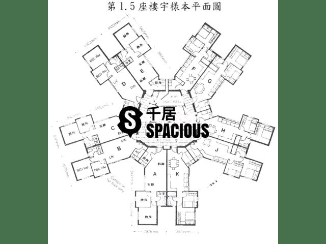 屯门 - 景峰花园 平面图 01