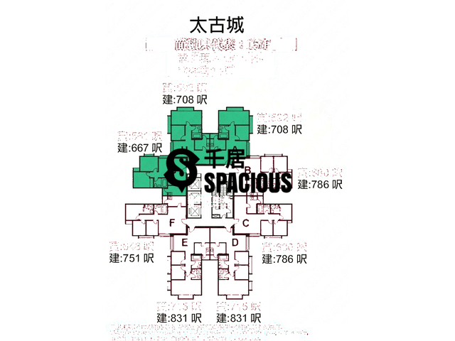 Tai Koo Shing - Taikoo Shing - Choi Tien Mansion Floor Plan 47
