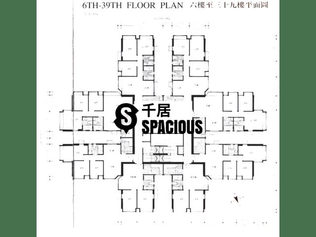 Tsuen Wan - SKYLINE PLAZA Floor Plan 01