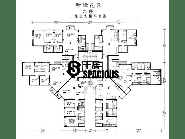 大埔 - 新峰花园 平面图 03