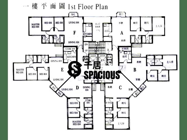 大埔 - 新峰花园 平面图 04