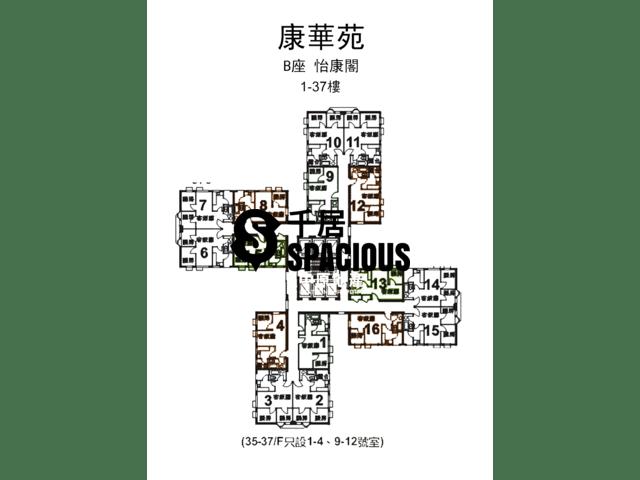 Lam Tin - Hong Wah Court Floor Plan 02