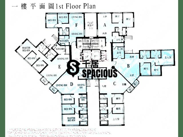 大埔 - 新峰花园 平面图 14