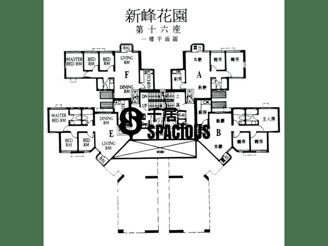 大埔 - 新峰花园 平面图 18
