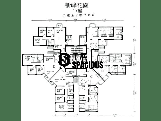 大埔 - 新峰花园 平面图 08