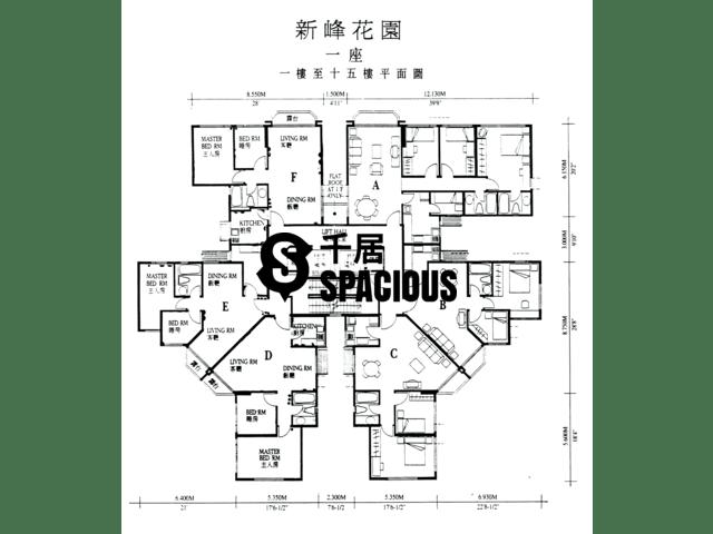 大埔 - 新峰花园 平面图 10
