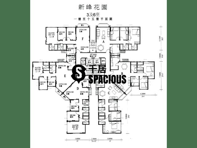 大埔 - 新峰花园 平面图 02
