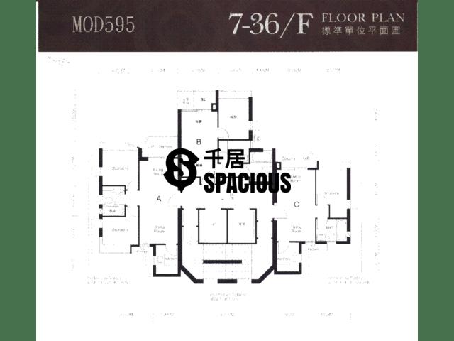 太子 - MOD595 平面图 02