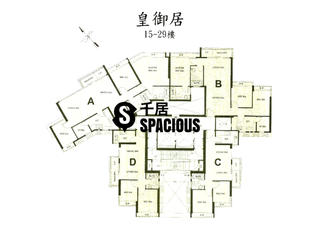 Sha Tin - KINGSTON LODGE Floor Plan 05