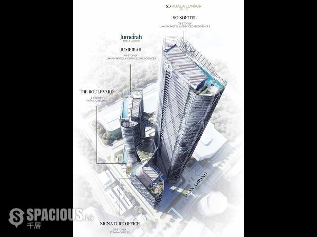 吉隆坡 - SO Sofitel Kuala Lumpur Residences at Oxley Tower 03