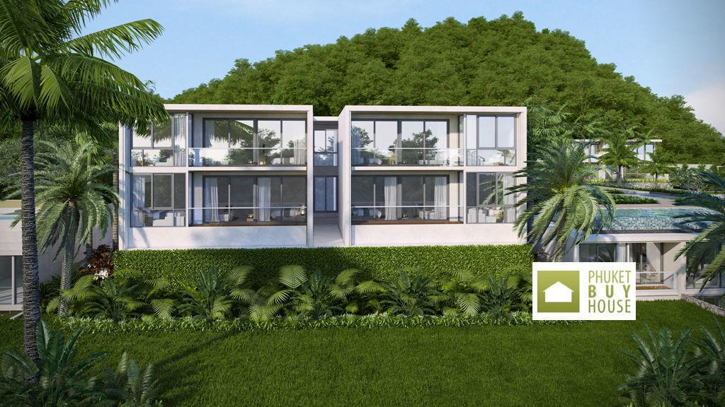 普吉岛 - KAR5431: New Amazing Condominium with Natural Jungle and Sea View Apartments in Karon 01