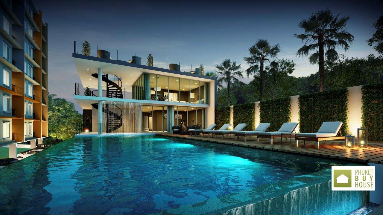 普吉岛 - PHU5757: Comfortable Apartment in Residence under Construction, Phuket TownStylish property at the best price 01