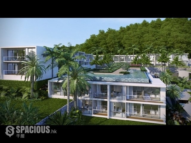 普吉岛 - KAR5431: New Amazing Condominium with Natural Jungle and Sea View Apartments in Karon 10