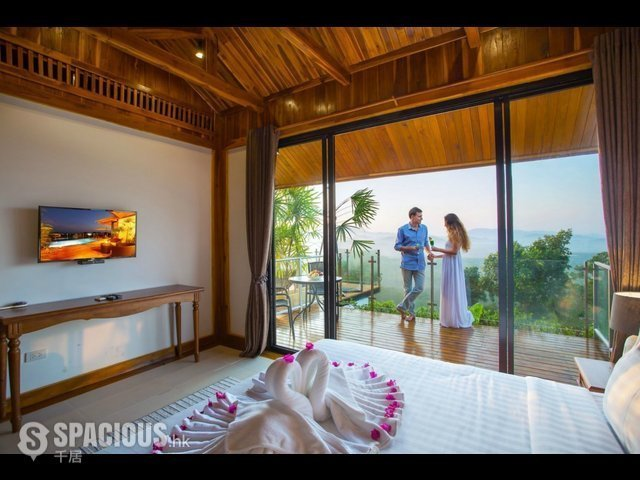 普吉岛 - PHA6001: Exclusive Villa with panoramic Views of sunrise, sunset and the Andaman sea 13
