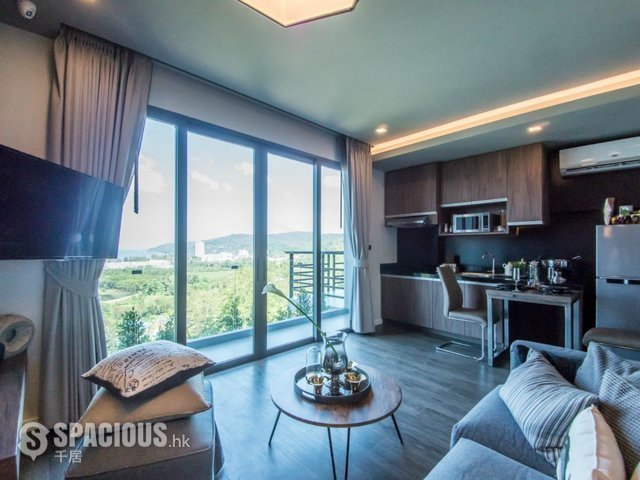 普吉岛 - KAR5973: Charming Apartment with Mountain View in Karon 22