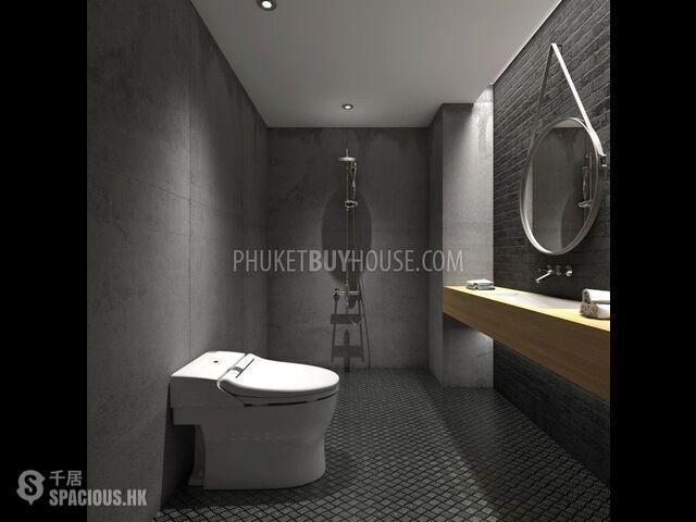 普吉岛 - NAI6090: 奈漢海灘獨特設計的新公寓 來自著名開發商的舒適一臥室公寓新專案 11