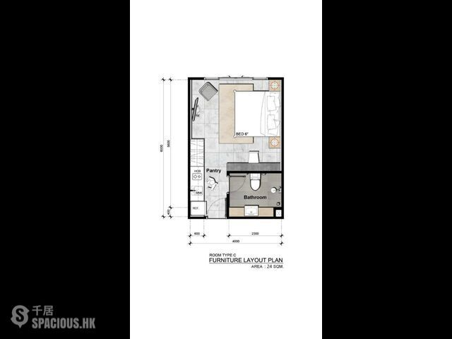 普吉岛 - NAI6090: 奈漢海灘獨特設計的新公寓 來自著名開發商的舒適一臥室公寓新專案 12