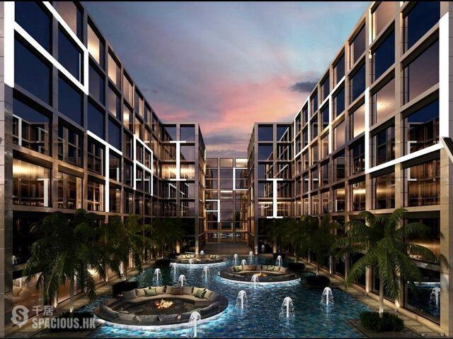 普吉島 - NAI6090: 奈漢海灘獨特設計的新公寓 來自著名開發商的舒適一臥室公寓新專案 01
