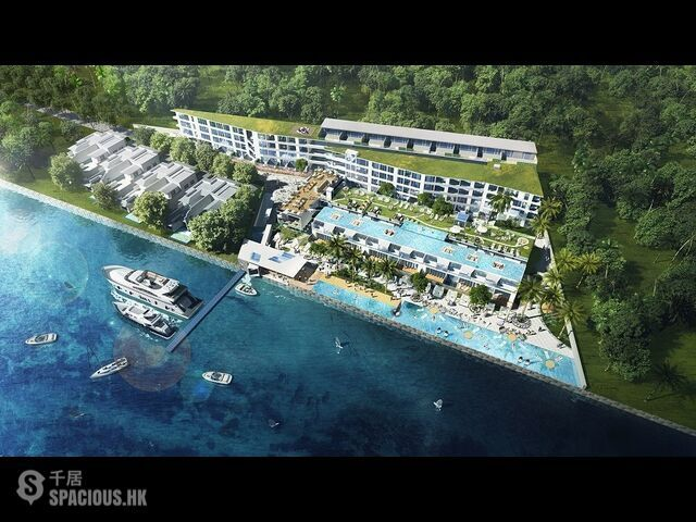 普吉岛 - CHA6300: 查龙新项目的梦幻公寓 美丽的一居室公寓 05
