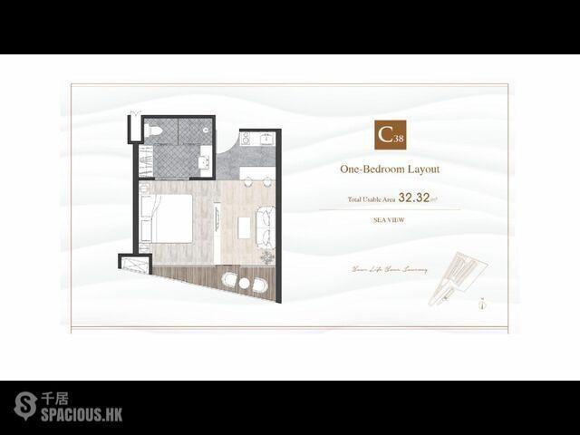 普吉島 - CHA6300: 查龍新專案的夢幻公寓 美麗的一居室公寓 13