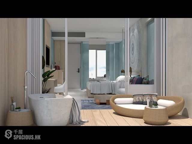 普吉島 - CHA6300: 查龍新專案的夢幻公寓 美麗的一居室公寓 18
