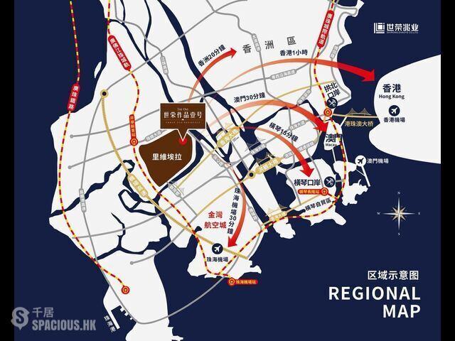 珠海 - 30分鐘抵達港珠澳大橋,斗門最大最靚70萬方國際生態豪宅 15
